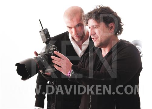 Zinedine Zidane et David Ken