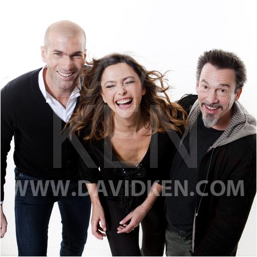 Exclusivité TV Grandes Chaînes : Zidane, Sandrine Quétier, Florent Pagny pour ELA
