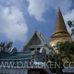 La Grande Pagode près de bangkok