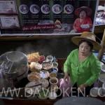 Marché Flottant près de Bangkok