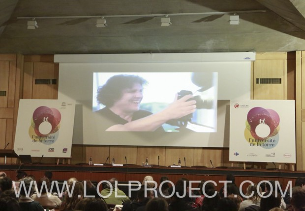 Projection du film du LOLPROJECT à l'UNESCO