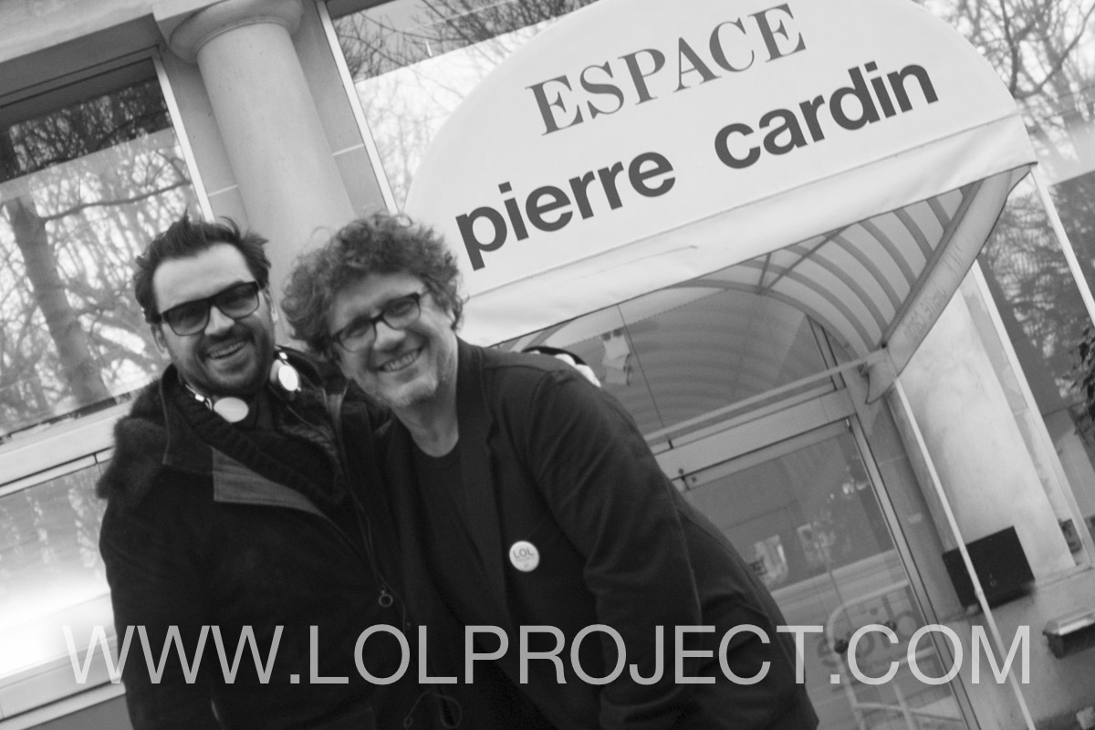 William Lafarge et DavidKen, Créateurs du LOLPROJECT  (Photo: Cédric Danonville)