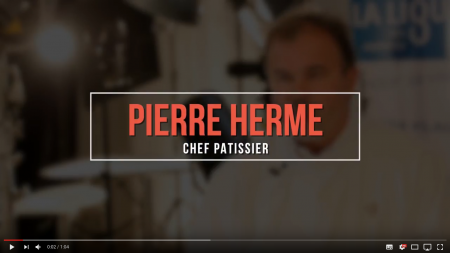 Pierre Hermé soutient la Ligue contre le Cancer