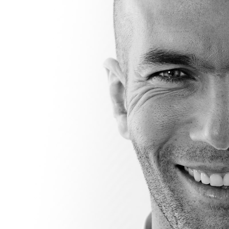 Zidane par David Ken