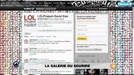 LOLPROJECT sur Direct8