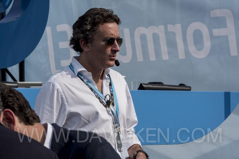 EXCLUSIF: Inside the first Grand Prix de formula-e à Beijing
