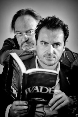 Les auteurs de WADÉ , William Lafarge et Nicolas Gouzy