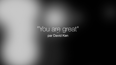 You are great !